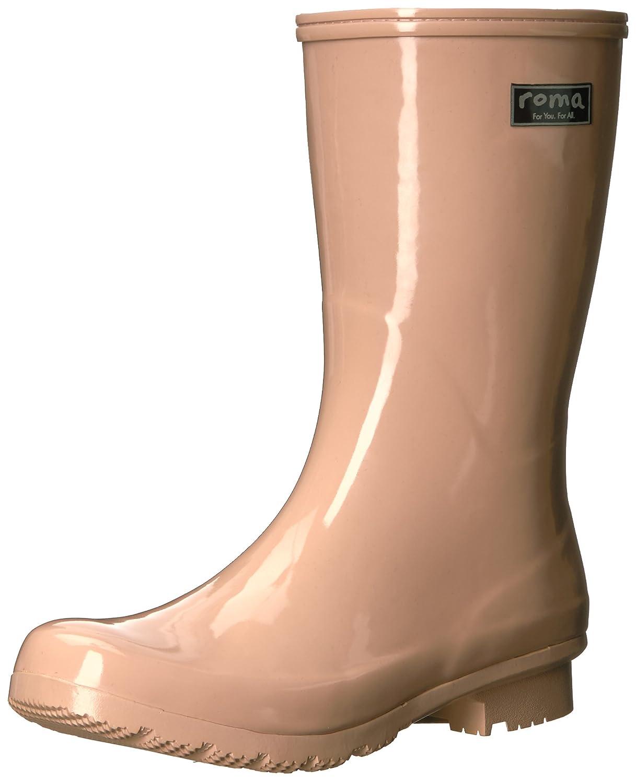 Roma Boots Women's EMMA Mid Rain Boots B072LJ8N7S 10 B(M) US|Blush