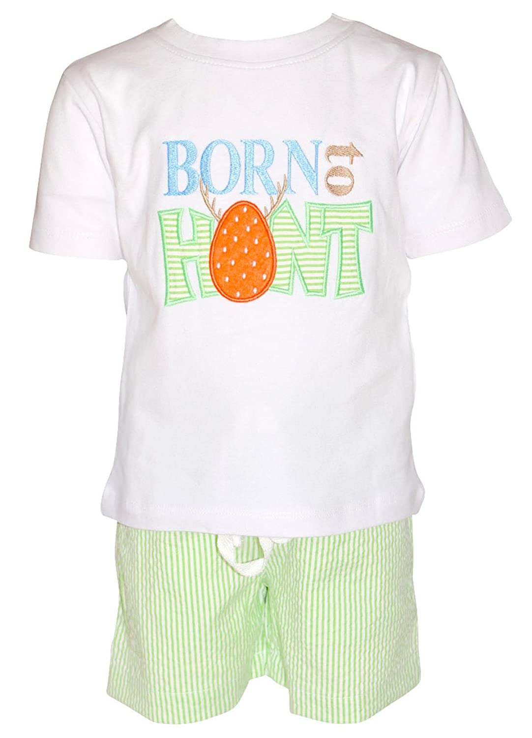 Unique Baby Boys Born To Hunt Easter Eggs Outfit