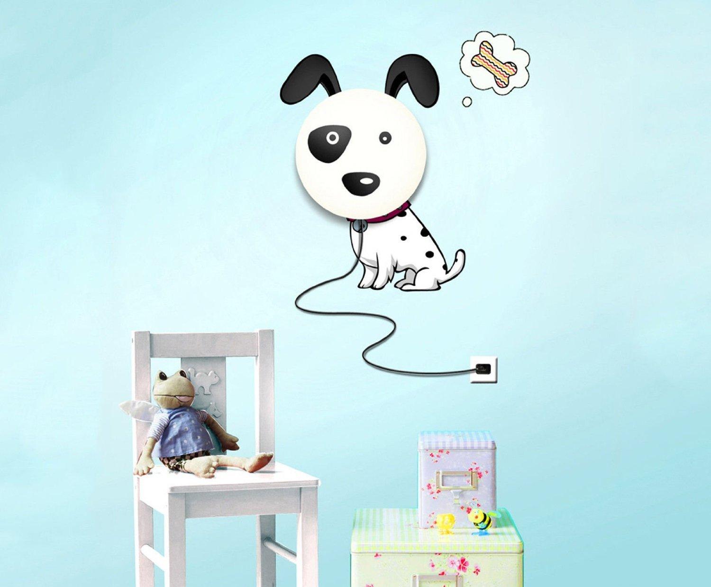 amazon com gosear cute dog diy home room decor wallpaper wall amazon com gosear cute dog diy home room decor wallpaper wall sticker night light lamp baby