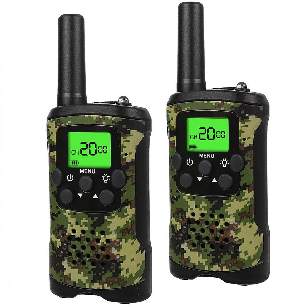 TOP Gift Outdoor Toys Walkie Talkies for Kids, Handheld Walkie Talkies for Kids Toys for 3-12 Year Old Boys Girls 2018 Christmas New for Kids Boys Girls 3-12 Green TGDJ01 by TOP Gift (Image #2)