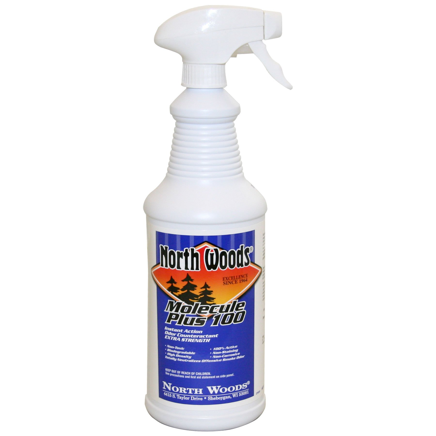 Molecule Plus 100 - Natural Odor Eliminator Spray to Remove Smoke and Other Odors