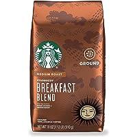 Starbucks Medium Roast Ground Coffee — Breakfast Blend — 100% Arabica — 1 bag (18 oz.)
