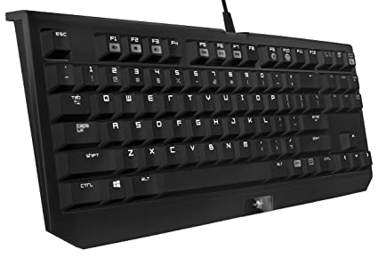 145a4ce5484 Razer BlackWidow Tournament Edition - Essential Mechanical Gaming Keyboard  - Compact Layout - Tactile & Clicky