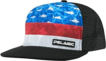 7e098c51c9eae Pelagic Men s Alpha Snapback Fishing Hat