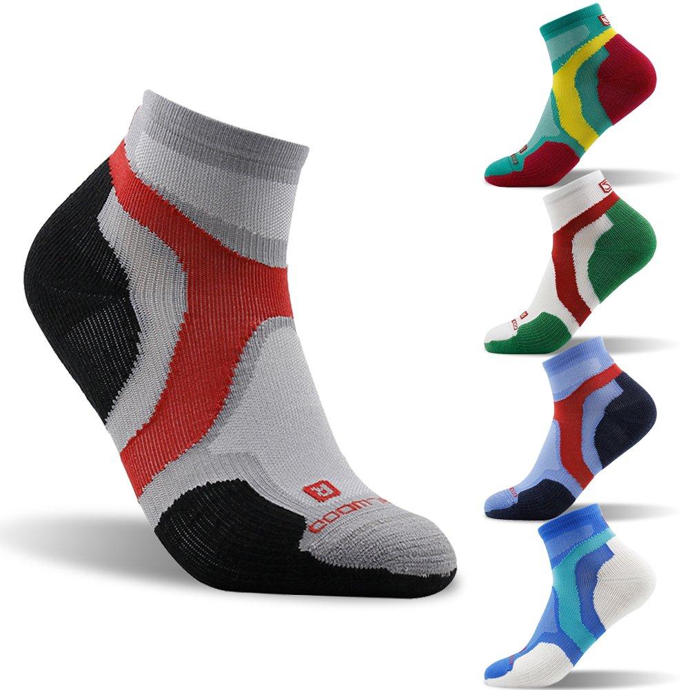 Merino Wool Socks ZEALWOOD Running Cycling Socks Cushion Hiking Socks 1 3 Pairs