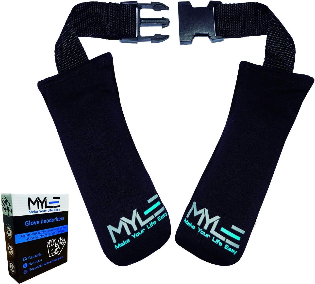 MYLE MAKE YOUR LIFE EASY Desodorante Guantes de Boxeo, Guantes de Portero, Botas Boxeo, Botas de Montaña, Botas Snowboard, Zapatillas de Running.