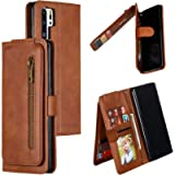 Snow Color Leather Wallet Case for Huawei P30 Pro with Stand Feature Shockproof Flip, Card Holder Case Cover for Huawei…