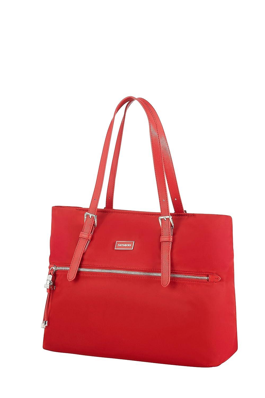 03a9a10d2b SAMSONITE Karissa - Shopping Bag M Borsa da spiaggia, 38 cm, Nero (Black):  Amazon.it: Valigeria