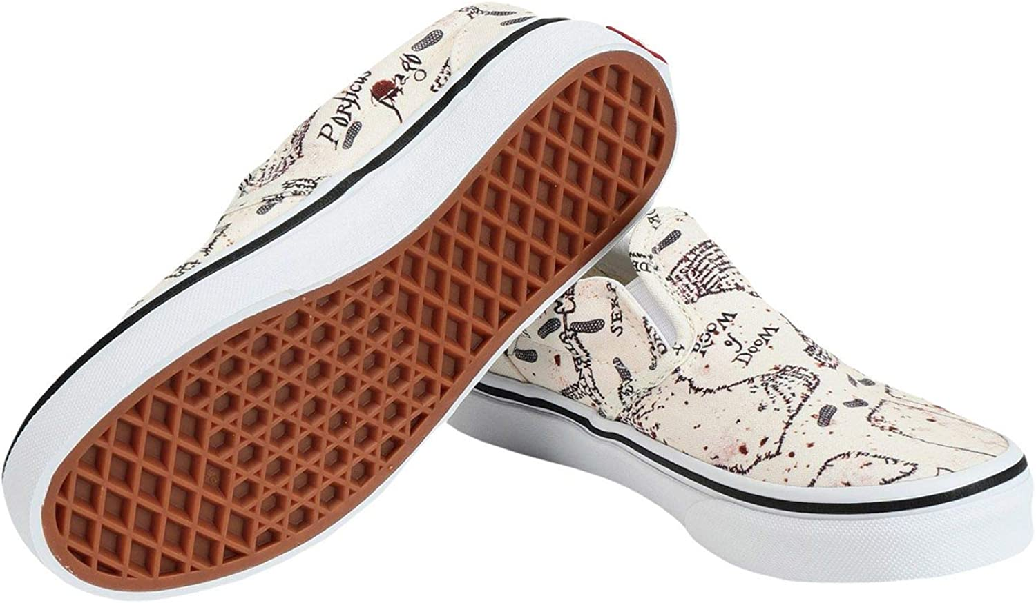 Vans Authentic (Mens 5/Womens 6.5, Ravenclaw/Checkerboard (Authentic Harry Potter) White