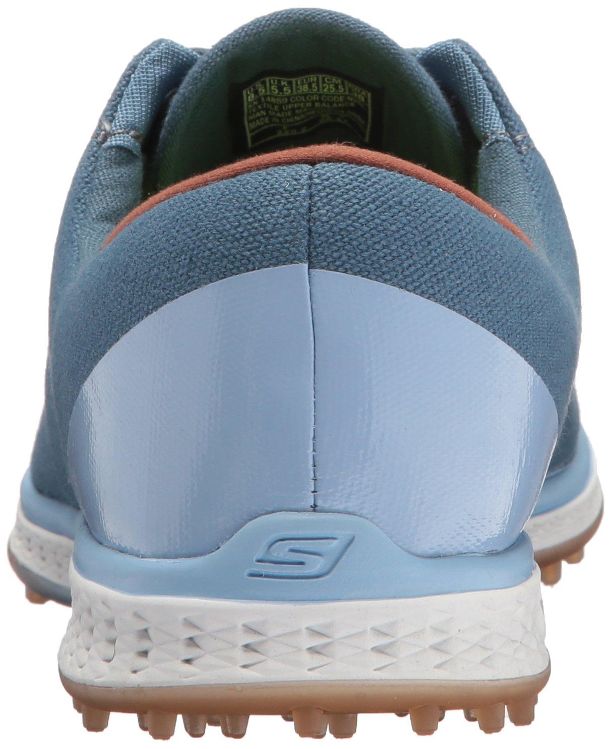 Skechers Performance Women's Go Golf Elite Canvas Golf Shoe B06XWDBY7M 6.5 B(M) US Navy/Blue
