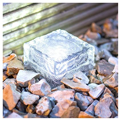 Back To Search Resultssports & Entertainment New Fashion Hot Sale Waterproof Solar Power Led Color Changing Ice Cube Crystal Glass Outdoor Brick Lights Perfect For Garden Decoration