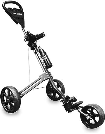 LONGRIDGE Tri Cart - Carrito de golf de 3 ruedas negro negro