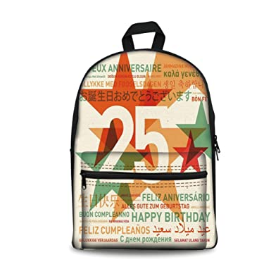 Amazon design the fashion fo kids back to school backpack design the fashion fo kids back to school backpack canvas book bag25th birthday m4hsunfo