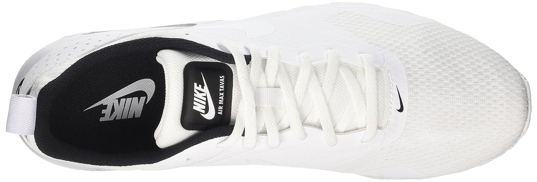 NIKE Men's Air Max Tavas WhiteWhiteBlack Running Shoe 8 Men US