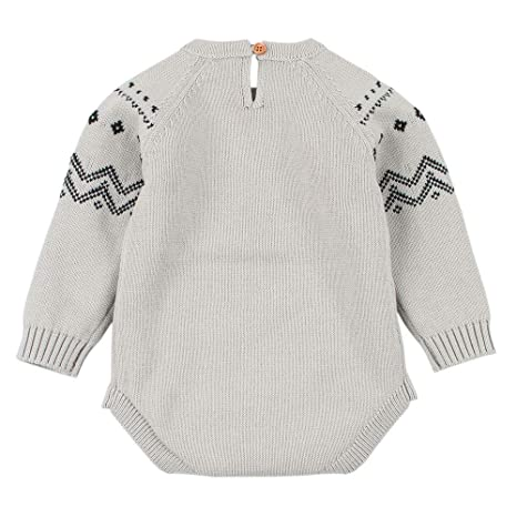 Amazon.com: Littleice Toddler Baby Girls Boys Knitted Sweater Fox ...