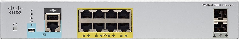 Cisco WS-C2960L-8PS-LL Catalyst Port GigE PoE 2 x 1G SFP