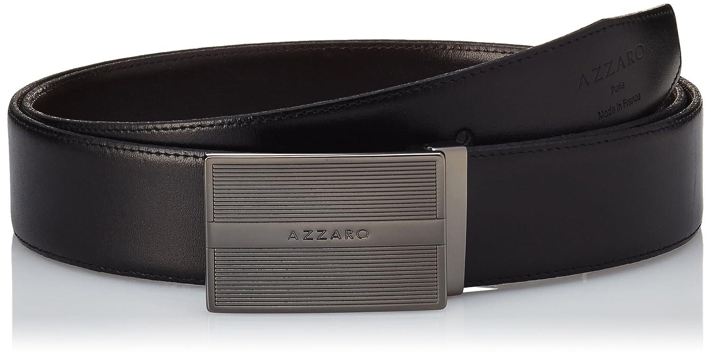 8a7e5de3245600 Schwarz 110 cm Noir/Marron ZCOF747 GR Taille fabricant 110 Herstellergröße:  110 cm Azzaro Herren Gürtel