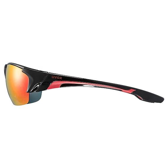 Uvex Blaze 3 Lunettes de sport Noir/Rouge iYpuvQ