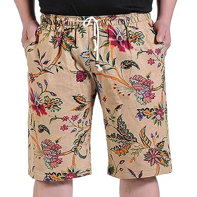Juqilu Pantalones Cortos para Hombres - Bermudas Deportivos ...