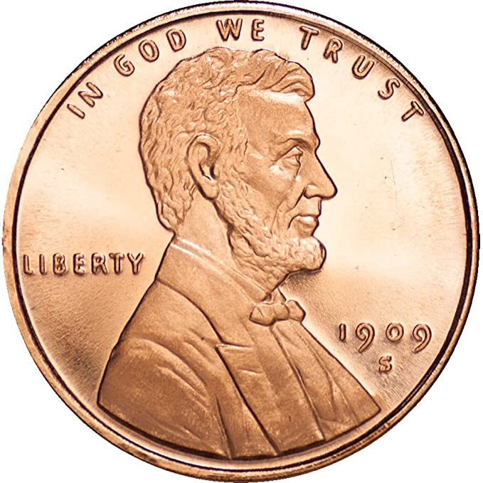 10-1//2 oz .999 Silver Rounds Brilliant Uncirculated Lincoln Wheat Cent