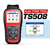 Autel TPMS Relearn Tool MaxiTPMS TS508, Program MX-Sensors(315/433MHz), Activate/Relearn All Brand Sensors, Read/Clear DTCs,