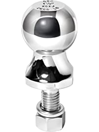 """Reese Towpower 7036800 1-7/8"""" Chrome Hitch Ball for ATV/Lawn Tractor"""