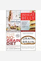 Against all grain celebrations [hardcover ], wheat belly,no-grain diet,grain brain 4 books collection set Paperback