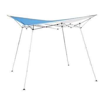 Caravan Canopy 8u0027 x 8u0027 Evo Shade Instant Canopy Blue Top/White  sc 1 st  Amazon.com & Amazon.com : Caravan Canopy 8u0027 x 8u0027 Evo Shade Instant Canopy Blue ...