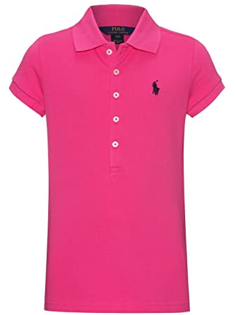 0cf79e7b6f182a Ralph Lauren - Polo - Fille - Rose - 12 ans  Amazon.fr  Vêtements et ...