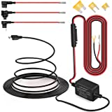 Dash Cam Hardwire Kit, Micro USB Port, DC 12V - 24V to 5V/2A Max Car Charger Cable kit With Fuse for Dashcam, Low Voltage Protection (Micro USB and Fuse Kit)