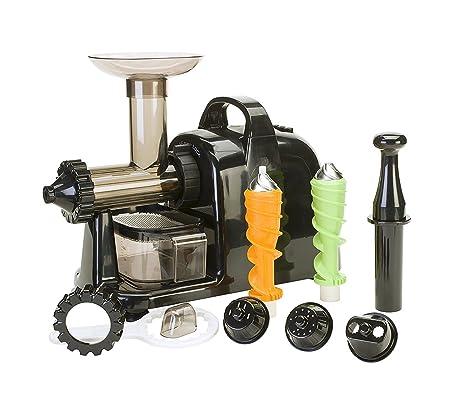Extractor/Masticador Multiusos Hierbas ,Verduras, Frutas ,Wheatgrass (negro)