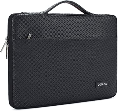 HP Dell 13-14 Inch Laptop Sleeve Case Waterproof 360 Protective Laptop Sleeve Bag Work Business Computer Case for 13-14 Inch MacBook Air//Pro Lenovo Asus Notebook Portable Handle Laptop Bag,Black