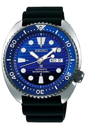 edec18258c4 Image Unavailable. Image not available for. Color  Seiko Prospex SRPC91 SAVE  THE OCCEAN Special Edition Diving Mens Watch