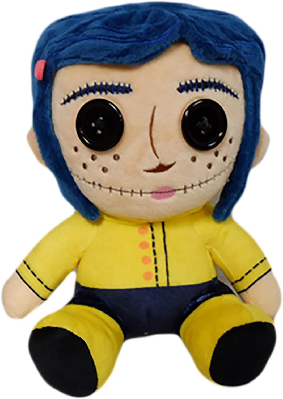 Amazon Com Kidrobot Coraline Phunny Plush Standard Toys Games