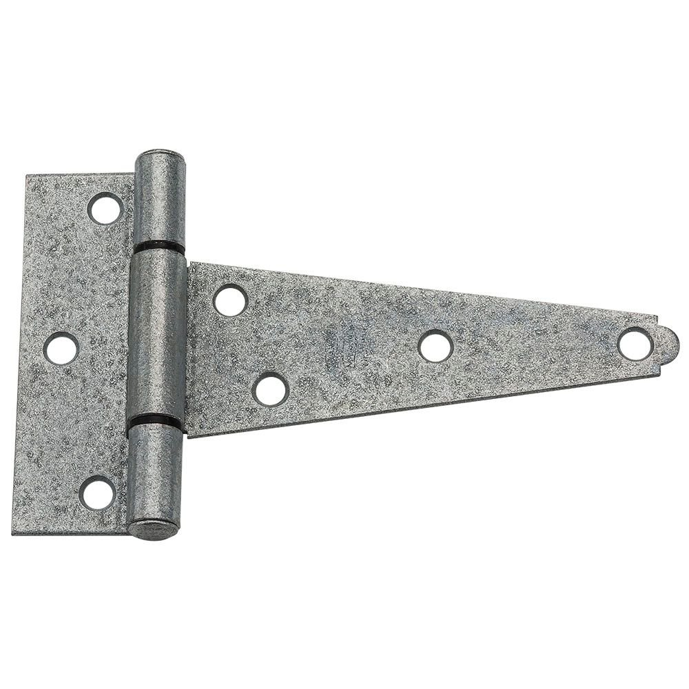 National Hardware N129 403 V286 Extra Heavy T Hinges in Galvanized 2 pack