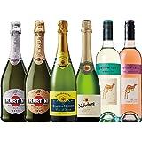 【コスパ抜群】シャンパン入り泡飲み比べ 750ml×6本セット