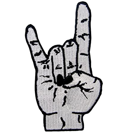 Punk Rock And Roll Heavy Metal Music Hand Symbol Sign Language