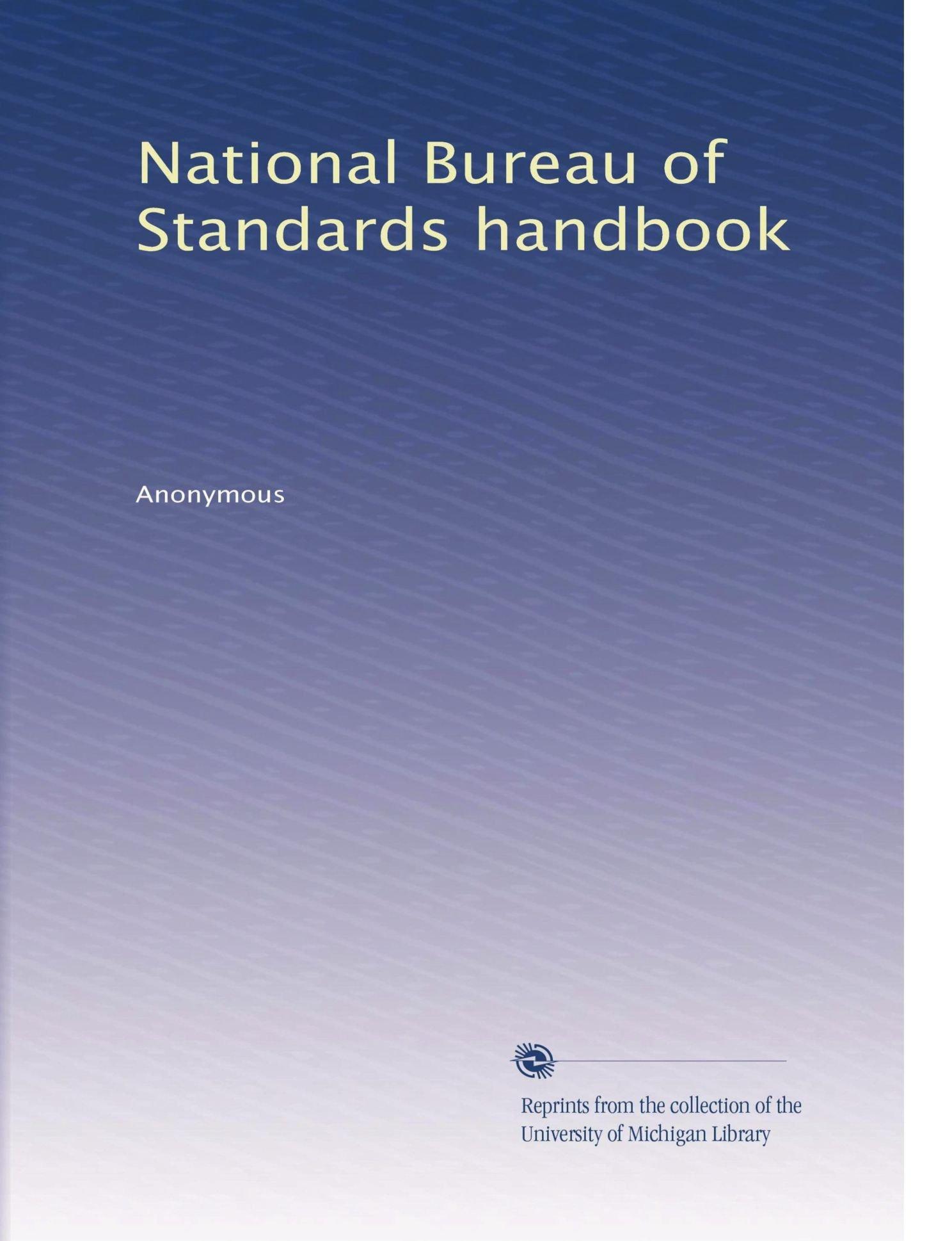 Read Online National Bureau of Standards handbook (Volume 30) PDF