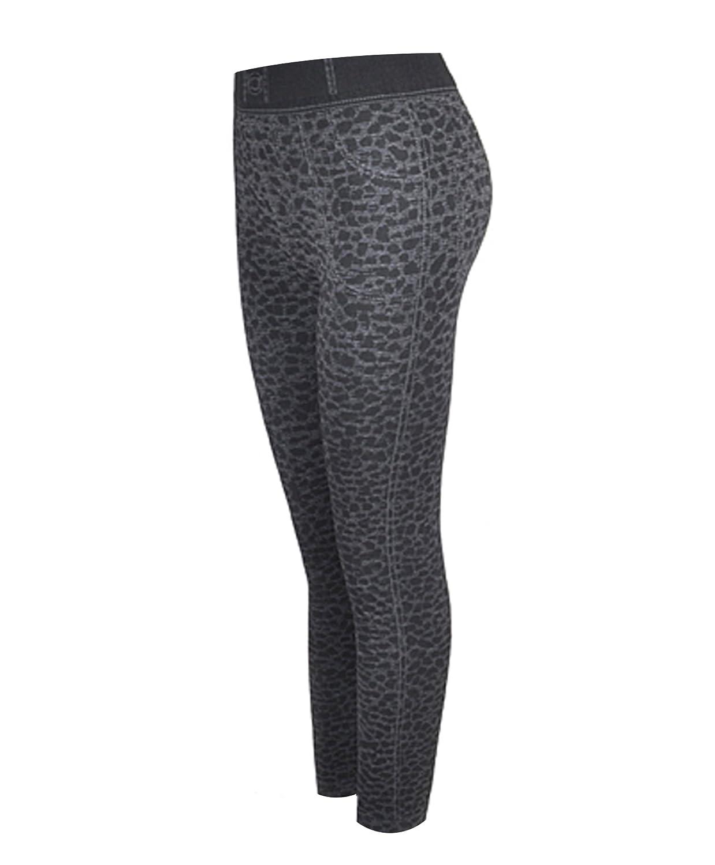 'Sexy Legs' Black Cheetah Print Fashion Leggings