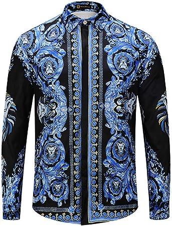 CHENS Camisa/Camisetas/Casual/Camisa de Primavera para Hombre ...