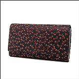 印傳屋 印伝 レディース ( レディス / 女性用 ) がま口 長財布 ( 財布 ) 束入れ 2306 日本製 ( 国産 )