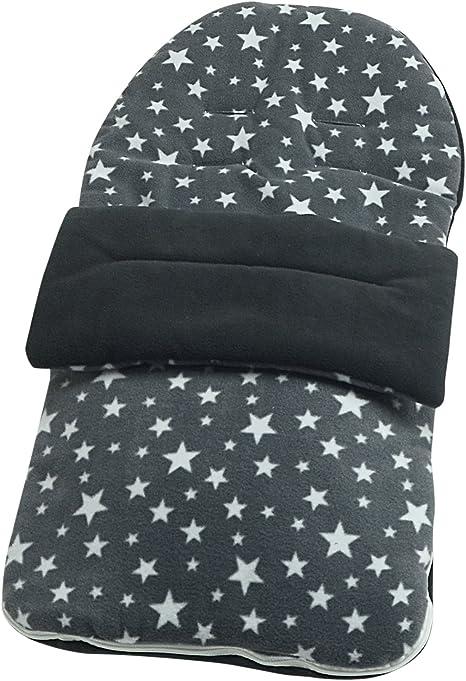 /gris Star Forro polar saco compatible con bebe confort Noa/