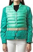 Wiberlux Moncler Caen Women's Ruffled Belt Accent Padded Jacket