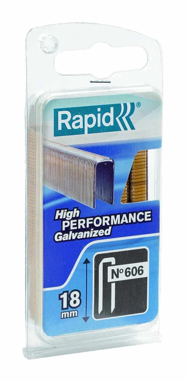 Rapid 40109529 Heftklammern Typ 606 18mm 600 St/ück 18 mm