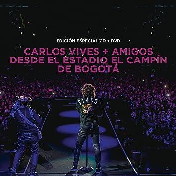 """Carlos Vives (CD+DVD """"+Amigos Desde el Estadio El Campin de"""