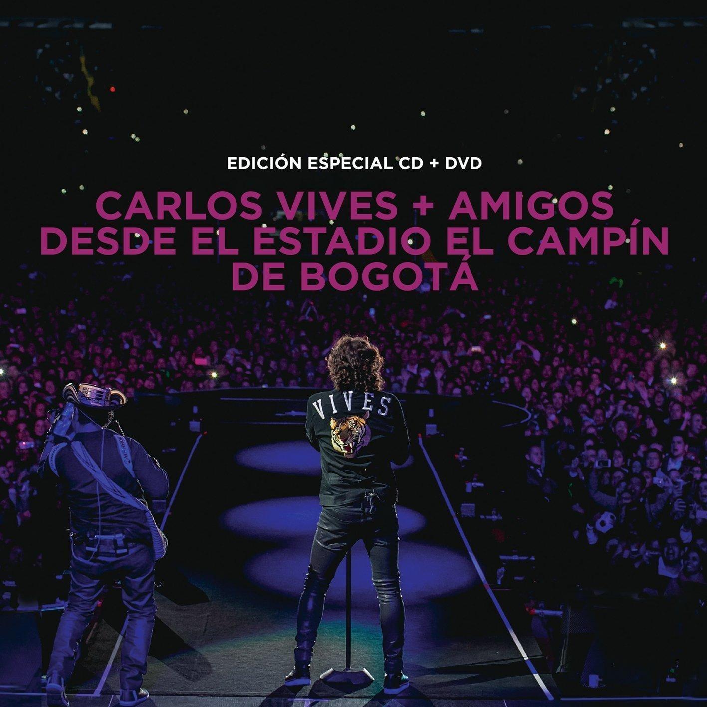 Carlos Vives (CD+DVD ''+Amigos Desde el Estadio El Campin de Bogota Sony-948628)