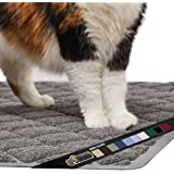 Gorilla Grip Original Premium Durable Cat Litter Mat, Traps Litter from Box and Cats, Scatter Control, Mats Soft on Kitty Paw