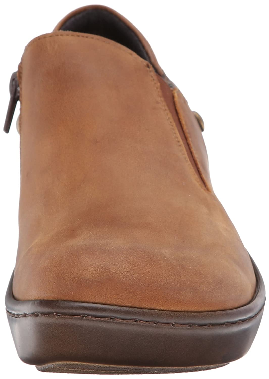 NAOT Women's Nautilus Flat B00IFQX3N2 37 EU/6-6.5 M US|Saddle Brown Leather/Crazy Horse Leather/Carob Brown Leather