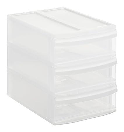 Rotho Systemix 1146096096 - Cajón archivador de plástico, tamaño S (26,5 x