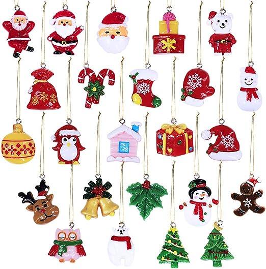 Cute Mini Santa Claus//Bear Bell Xmas Tree Hanging Ornament Design Christmas Gift